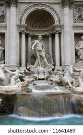 Roman trevi fountains