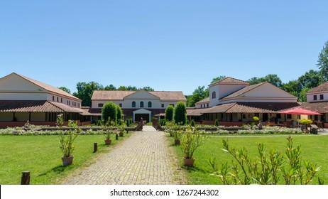roman villa perl borg