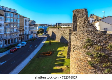 Roman wall of Lugo, Galicia, Spain
