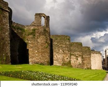 Roman wall of Lugo. World Heritage Site