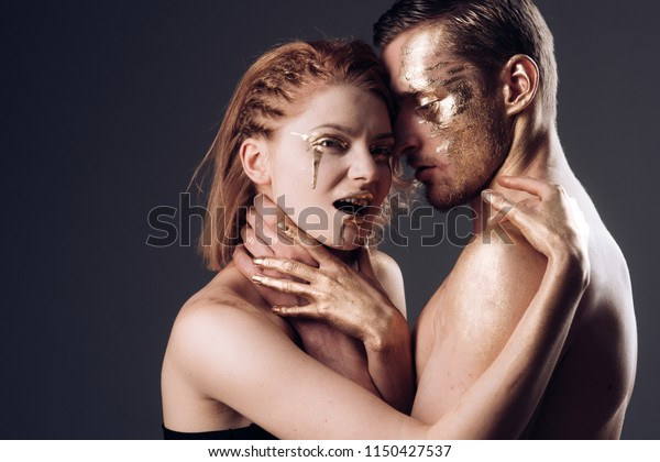 Romance Love Body Art Couple Romance Stock Photo Edit Now 1150427537