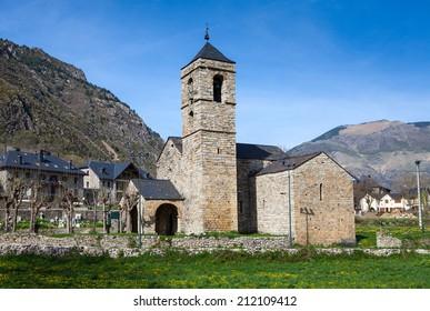 Romanesque church of Sant Feliu de Barruera (Lleida, Spain)