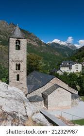 Romanesque church of Sant Joan de Boi (Lleida, Spain)
