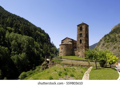 Romanesque church of Sant Joan de Caselles (12 century), Canillo, Andorra