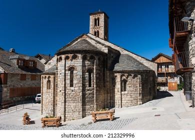 Romanesque church of Santa Maria de Taull (Lleida, Spain)