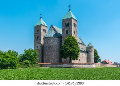 Romanesque collegiate church of St. Mary and St. Alexius in Tum, Poland