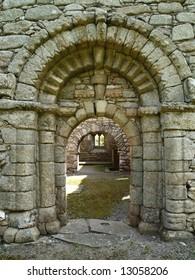Romanesque Doorway, Kilkenny, Ireland