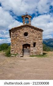 Romanesque hermitage of Sant Salvador de Irgo, Lleida (Spain)