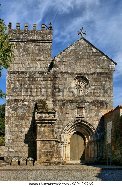 Romanesque monastery of Cete in Paredes, north of Portugal