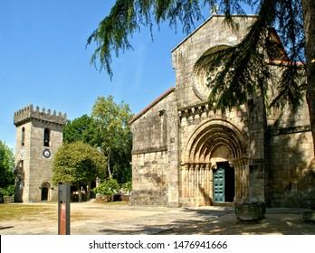 Romanesque monastery of Paco de Sousa in Penafiel, Portugal