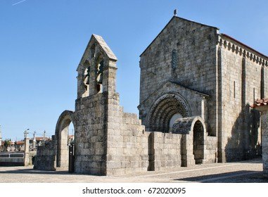 Romanesque monastery of Sao Pedro de Ferreira in Pacos de Ferreira, north of Portugal