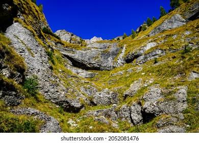 Romania, Bucegi Mountains, The Big Girdle of the Morar