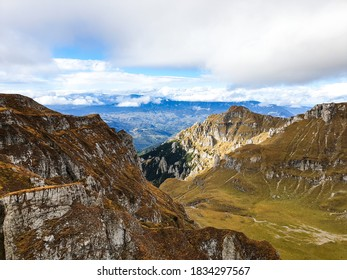 Romania, Bucegi Mountains, Gaura Valley