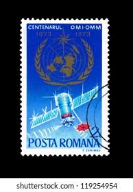 ROMANIA - CIRCA 1973: A stamp printed in Romania  shows centenarul omi-omm, circa 1973.