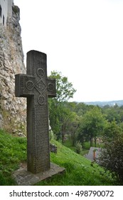 Romania dracula castle cross