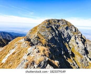Romania, Fagaras Mountains, Buteanu Peak