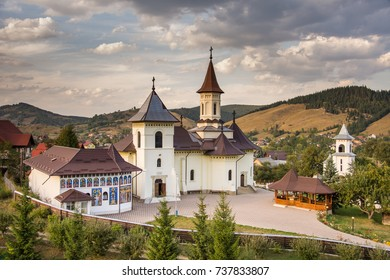Romania, Humor Monastery,2017,view  from tower