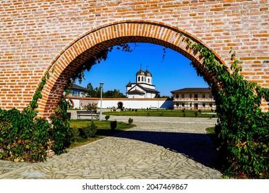 Romania, Potlogi Village, Brancoveanu Palace, Saint Dumitru Church