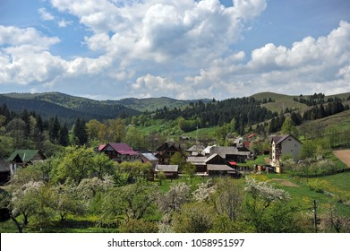 Romania. Village of Voronet