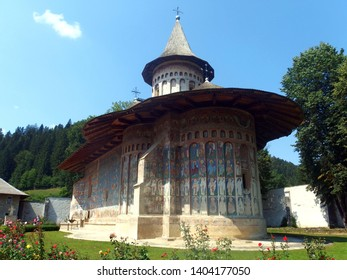 Romania - The Voronet Monastery in Bukovina