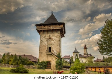 Romania,Humor Monastery,2017,Tower of Vasile Lupu