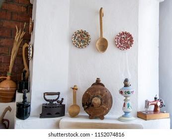 Romanian farmhouse interior - the Buzau region - Romania - East European Travel Destination