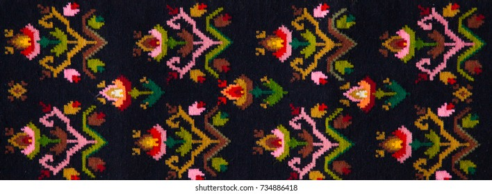 Embroidery Pattern Images Stock Photos Vectors Shutterstock