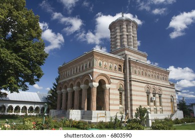 Romanian Orthodox Monastery called Samurcasesti near Bucharest