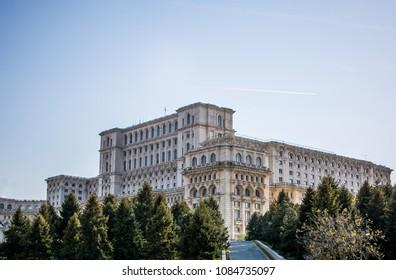 Romanian Parliament building