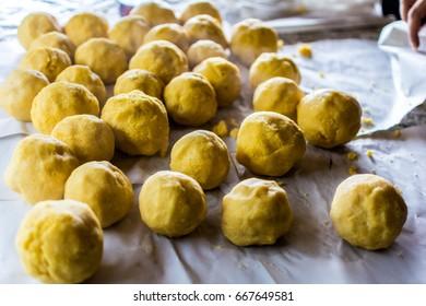 Romanian traditional food : Bulz ciobanesc