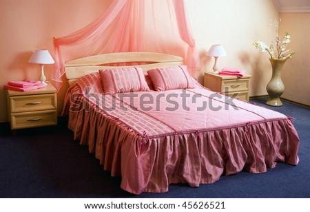 Romantic Bedroom Hotel Stock Photo (Edit Now) 45626521 - Shutterstock