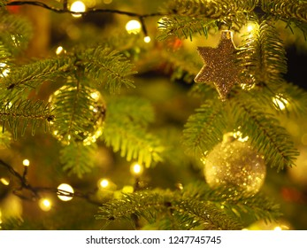 Romantic Christmastree with a Star