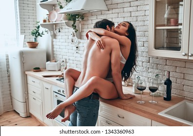 Kitchen nude Nude In