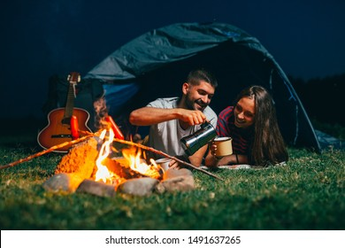 Romantic Camping Images Stock Photos Vectors Shutterstock