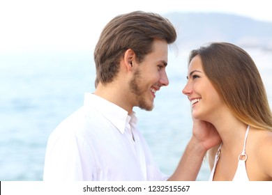 man and woman couple