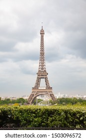 romantic destination Eiffel tower Paris, France