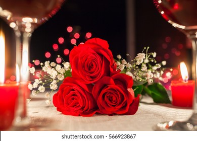 Romantic Dinner Decoration Images Stock Photos Vectors Shutterstock
