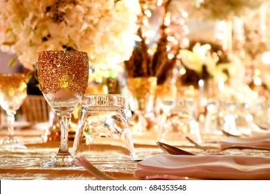 Romantic Luxury Gala Dinner