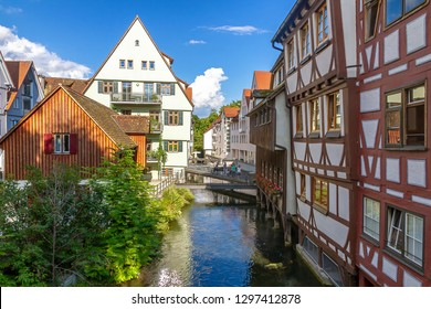 Romantic old town of Ulm, Germany