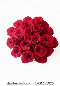 romantic red roses decoration gift