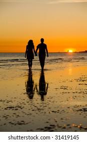A Romantic Sunset