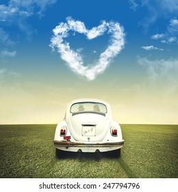 romantic valentine's day off road