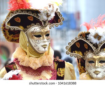 Romantic Venetian Masks