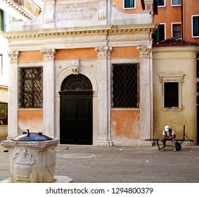 Romantic Venice: San Gallo small church at Sotoportego del Cavalletto