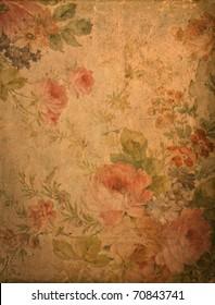 Romantic vintage rose background
