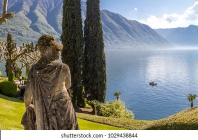 romantic wedding place on Como Lake - famouse Villa del Balbianello, Italy