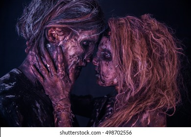 Romantic zombies. Apocalypse.