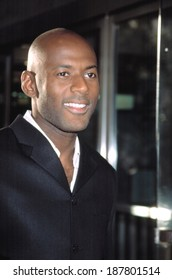 Romany Malco at THE CHATEAU premiere, 8/6/2002, NYC