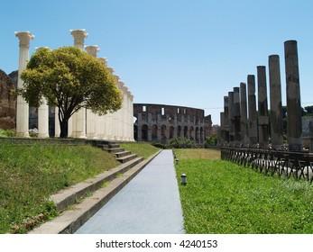 rome antique landscape