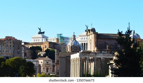 Rome beautiful landscape